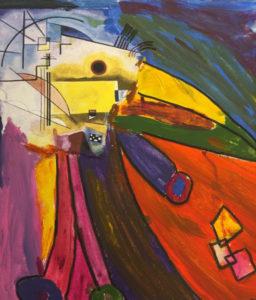 Dette verket er laget av 11 år gamle Andrea Bolstad fra Asker.